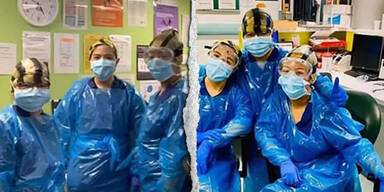 Drei Krankenschwestern Coronavirus positiv