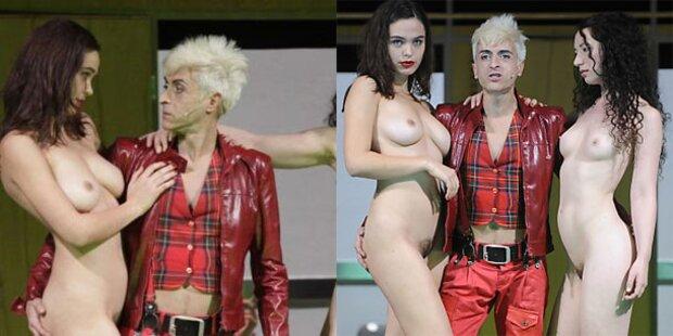 Bühnenklassiker mit viel nackter Haut