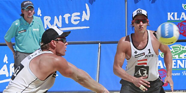Vize-Europameister Gosch/Horst erstmals in LA-Camp