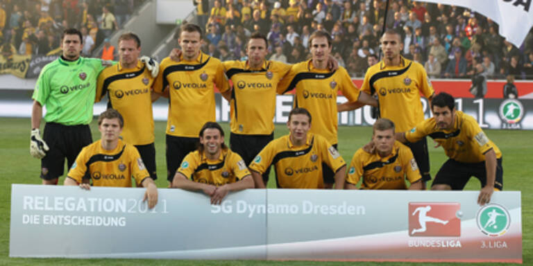 Dresden kehrt in die 2.Liga zurück