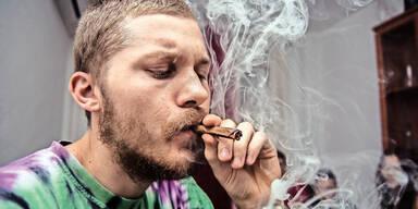 Drogen Cannabis Kiffen