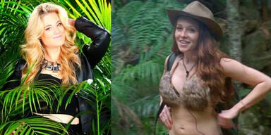 RTL-Dschungel: Larissa Marolt und Georgina Fleur