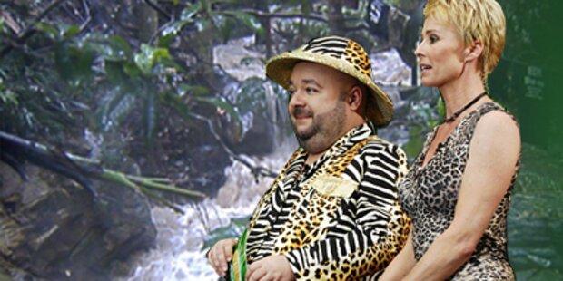 Dschungelcamp steht unter Wasser