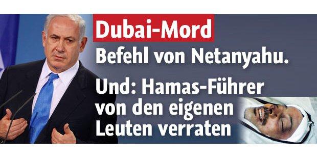 Netanyahu genehmigte Dubai-Mord