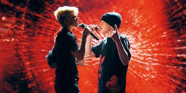 Eminem, Jackson und romantische Duette
