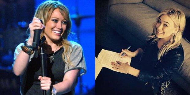 Hilary Duff mit neuem Plattenvertrag