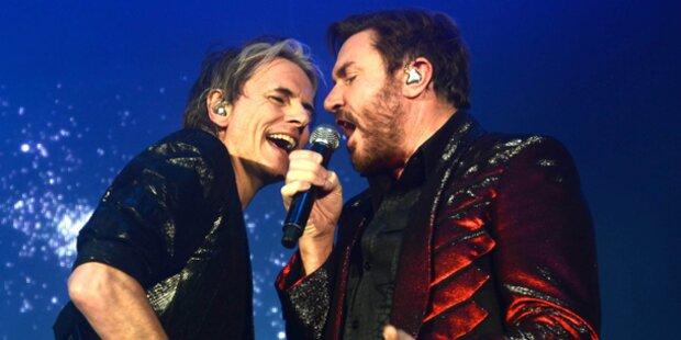 Taylor zeitgleich mit Duran Duran in Wien