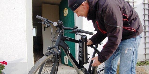 """Wie man E-Bikes auf den """"Winterschlaf"""" vorbereitet"""