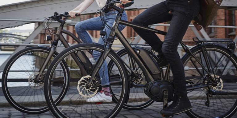 Polizei stoppte zu schnelles E-Bike in Wien