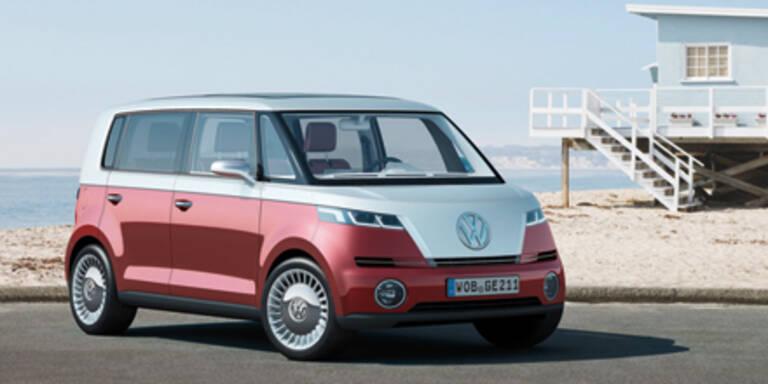 VW präsentiert den Elektro-Bulli