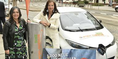 500 neue E-Auto-Ladesäulen in Wien