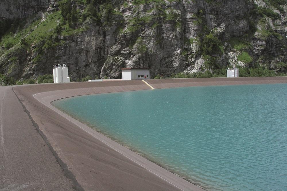 E-Marke - ADV - Die Heizlüge - Wasserkraft, Staubecken