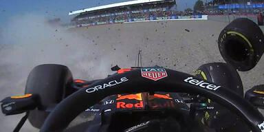 Max Verstappen Crash in Silverstone