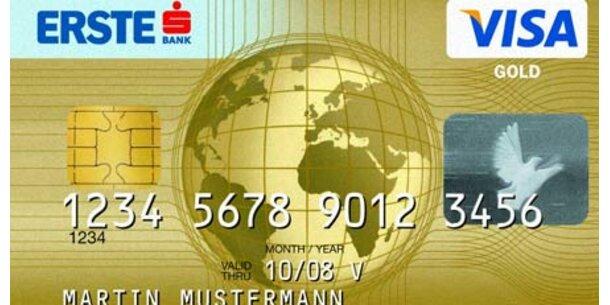 Erste Bank sperrt Visa-Karten