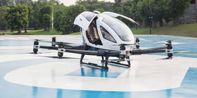 Taxi-Drohnen von FACC bereits im Einsaz