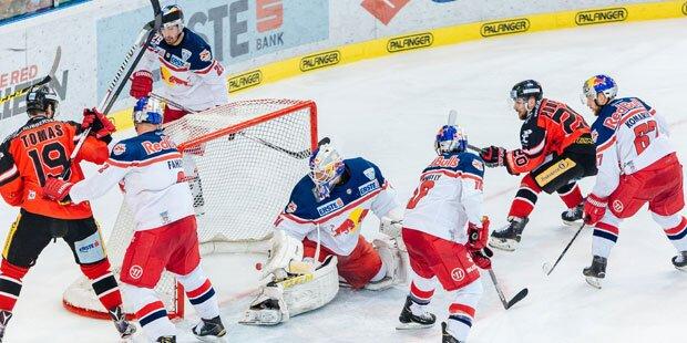 Erster Matchpuck für Salzburg