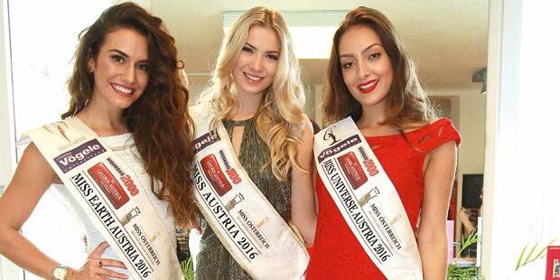 Edle Roben für Miss World