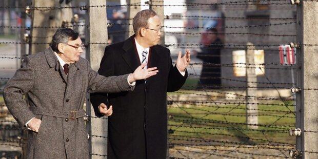 Ban Ki-Moon besuchte NS-Vernichtungslager