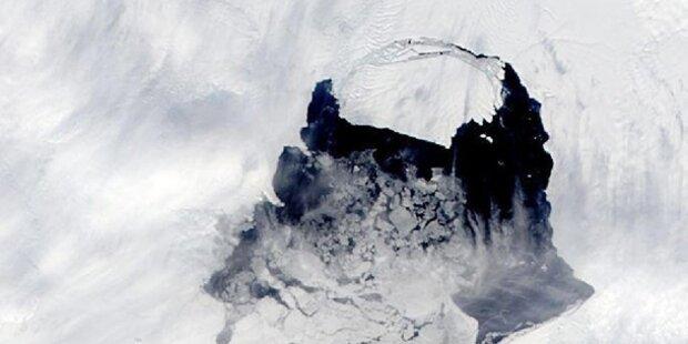 Riesen-Eisberg könnte Schiffe gefährden