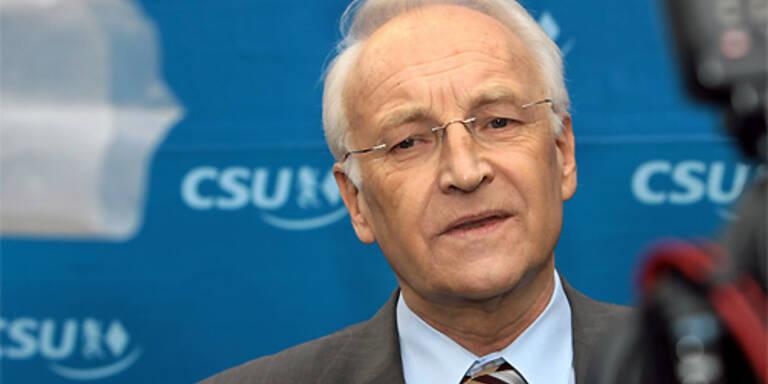 Bayerns Ministerpräsident Edmund Stoiber. (c) EPA