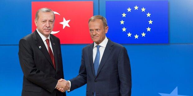 EU zahlte der Türkei rund 2,7 Mrd. Euro netto