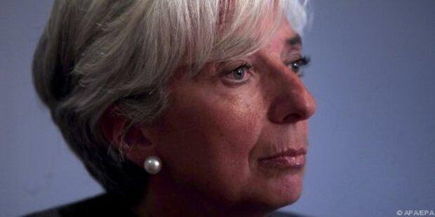 Lagarde kandidiert als IWF-Chefin
