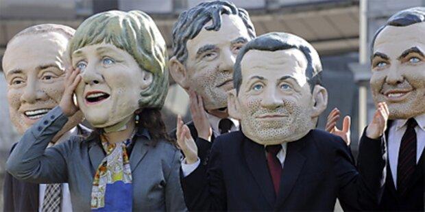 EU-weiter Protesttag gegen Sparpläne