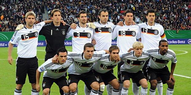DFB-Kicker kassieren Viertelmillion für WM-Titel