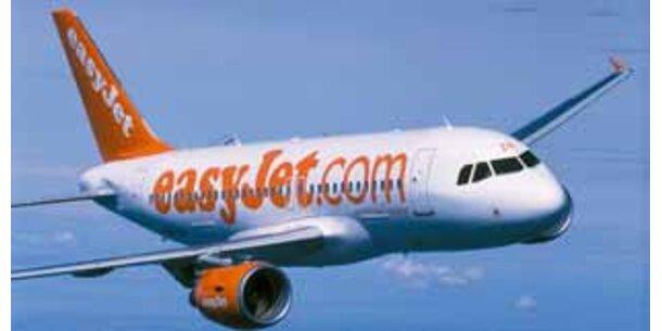 Billig-Airline easyJet startet ab heute von Wien