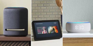 Amazon bringt fünf neue Echo-Lautsprecher