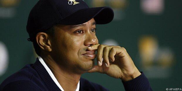Tiger Woods: Showdown in zwei Wochen