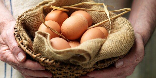 So erkennt man, ob ein rohes Ei noch gut ist