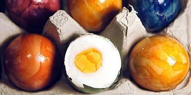 Eier enthalten Vitamine, Mineralstoffe und Eiweiß