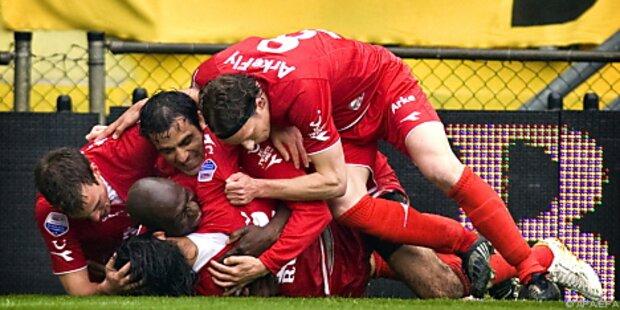 Twente Enschede erstmals niederländischer Meister