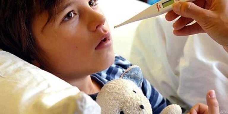 Ein krankes Kind muss wieder zu Kräften kommen