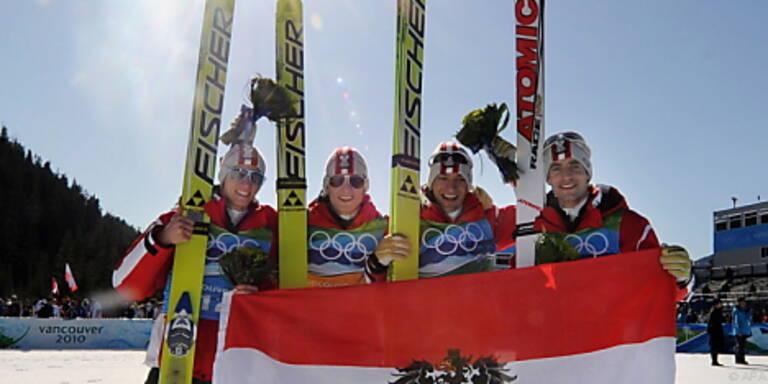 Springer-Quartett bekam Goldmedaillen überreicht