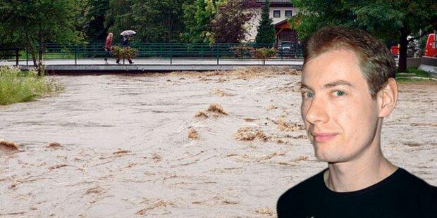 Anwalt (30) im Hochwasser vermisst