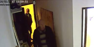 Einbrecher Überwachungskamera