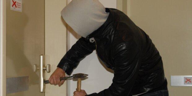 Einbrecher-Duo in flagranti erwischt