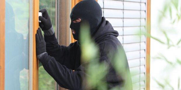 Freche Einbrecher im Burgenland auf Tour