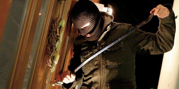 Einbrecher mit neuen Maschen