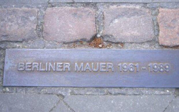Die Spuren der Berliner Mauer