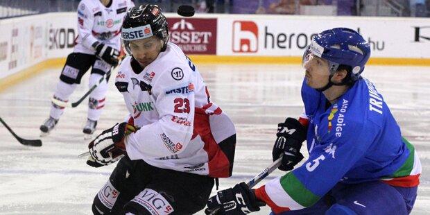 Eishockey: Österreich besiegt Italien