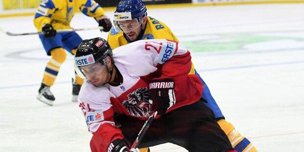 Eishockey: Österreich besiegt Ukraine 1:0