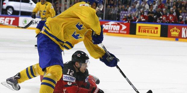 Gold! Schweden bezwingt Kanada