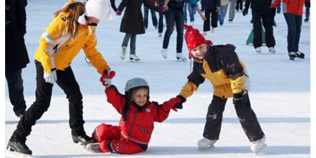 Eislaufen und Skifahren mitten in Wien