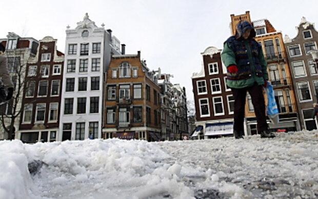 Amsterdam hofft auf zugefrorene Grachten