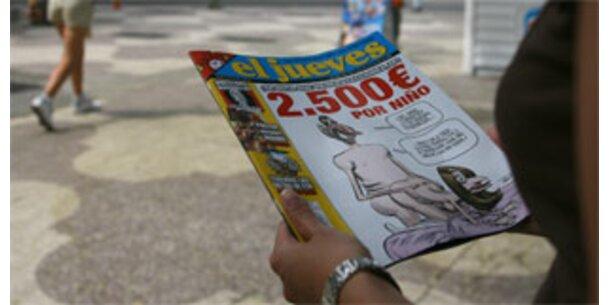 Skandal um königliche Sexkarikaturen weitet sich aus