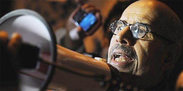ElBaradei sprach mit Botschaftern