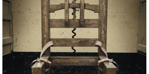 Elektrischer Stuhl beschert Besucherrekord